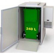Konfiskatkühler für 240 Liter Tonnen